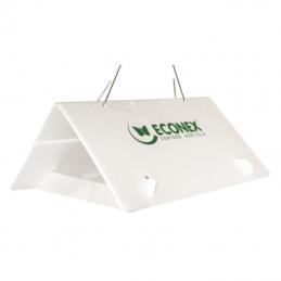 Trampa Triangular Blanca